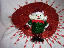 Christmas wreath candy canes sparkling elf new in Fort Hood, Texas
