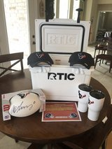 Custom Texans RTIC Cooler & Merchandise Pack in The Woodlands, Texas
