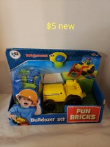 Bulldozer play set. New in Fairfield, California