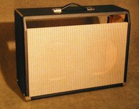 """FENDER Princeton Guitar Cabinet [empty]-Can Fit 2x10""""-or 1x12"""" Very Good Condition! in Alamogordo, New Mexico"""