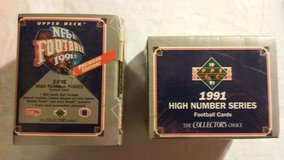 1991 Upper Deck High Number Series Trading Cards in Fort Riley, Kansas