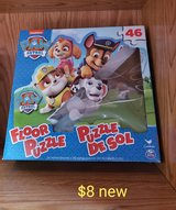 Paw patrol large floor puzzle. New in Fairfield, California