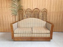 Rattan Inlay Couch in Okinawa, Japan