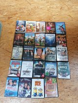 Assorted movies/TV shows in Ramstein, Germany