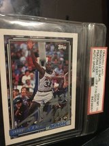 Shaquille O'Neal rookie card number 362 signed in Beaufort, South Carolina
