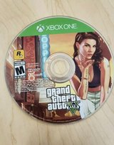 GTA 5 Xbox one game in white sleeve in Pasadena, Texas