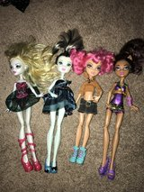 Monster High Dolls in Plainfield, Illinois
