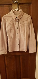 New, Tan Suede Jacket in Batavia, Illinois