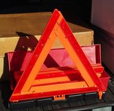 Emergency Warning Triangle Reflector Set - New in Glendale Heights, Illinois