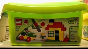 Gently used LEGO DUPLO Classic Deluxe Brick Box set in Rolla, Missouri