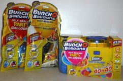 New! Zuru Bunch O Self-Sealing Party Balloons Pump +Xtra Balloon Packs in Chicago, Illinois