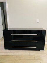 dresser and nightstand High gloss lacquer finish in Kingwood, Texas