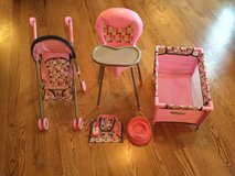 Baby doll play set in Oswego, Illinois