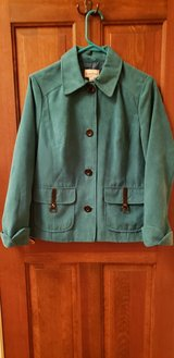 Teal Suede-Like Jacket in Plainfield, Illinois