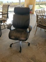 Office chair in Yucca Valley, California