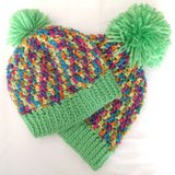 Crocheted Beanie Hat with Pom for Baby or Toddler in Camp Lejeune, North Carolina