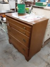 Vintage three drawer chest of drawers in Camp Lejeune, North Carolina
