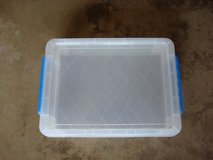 "8 3/4 "" X 12 "" X 2 1/2 "" TALL PLASTIC  STORAGE  CASE in Naperville, Illinois"