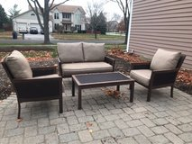 Sunbrella 4-piece conversational patio set in St. Charles, Illinois