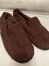Men's Isotoner Brown slippers in Chicago, Illinois