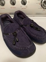 Men's Isotoner Navy Blue slippers in Chicago, Illinois