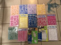 Huge Lot of Stencils EUC and Brand New in Fairfield, California