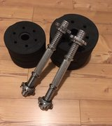 dumbells 2x 10kg - 44lbs in Ramstein, Germany