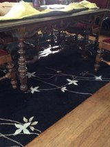 Vintage dining table in Sugar Grove, Illinois