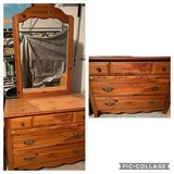 Bedroom Dresser with Mirror in Plainfield, Illinois