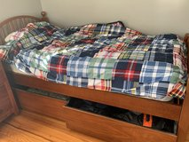 Cherry wood bunk beds in Chicago, Illinois