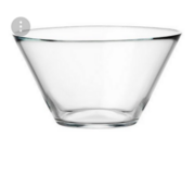 IKEA TRYGG serving bowl clear glass in Ramstein, Germany