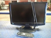 "19""  Sharp LCD TV in Alamogordo, New Mexico"