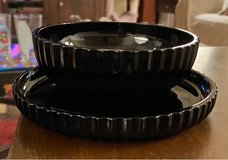 Small Black Plate/Bowl in Chicago, Illinois