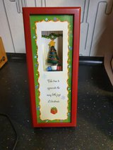 Hallmark shadowbox/picture frame for Christmas. in Ramstein, Germany