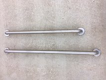 42 & 36 inch Stainless Steel Wall Mount Grab Bars in Beaufort, South Carolina