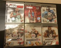 PS3 Sport Games in Ramstein, Germany