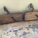 Antique wooden molding hand planes in Travis AFB, California