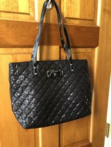 Guess Black Sequined Tote Bag Purse Handbag in St. Charles, Illinois