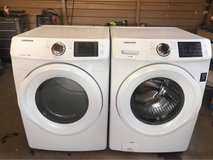 Samsung washer and electric dryer set in Alamogordo, New Mexico