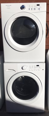 Frigidaire washer and electric dryer set in Alamogordo, New Mexico