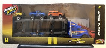 New Bright Adventure Wheels Monster Hauler Set in Fort Campbell, Kentucky