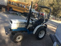 Small 4x4 diesel tractor 3point EURO TRAK 180D in Alamogordo, New Mexico