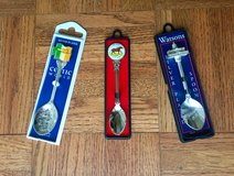 Silver plated souvenir spoons in Fairfax, Virginia