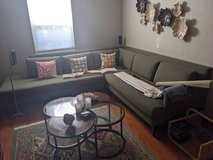 Crate and Barrel Contemporary couch $450 in Chicago, Illinois