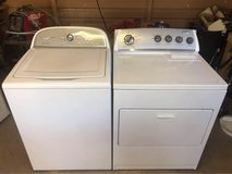 Whirlpool cabrio and Kenmore electric dryer in Alamogordo, New Mexico