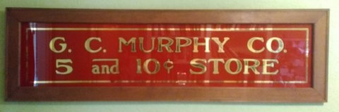 GC Murphy sign in Cleveland, Texas