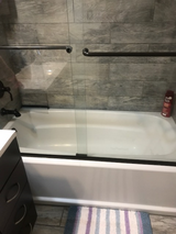 Shower Doors and Tub in 29 Palms, California