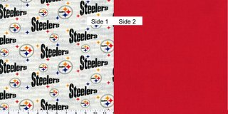 Face Masks 100% Cotton Reversible with Nose Wire - Pittsburg Steelers in Camp Lejeune, North Carolina