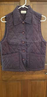 Brown Quilted Vest in Naperville, Illinois