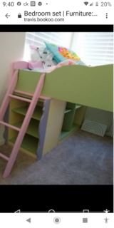 Bunk bed in Fairfield, California